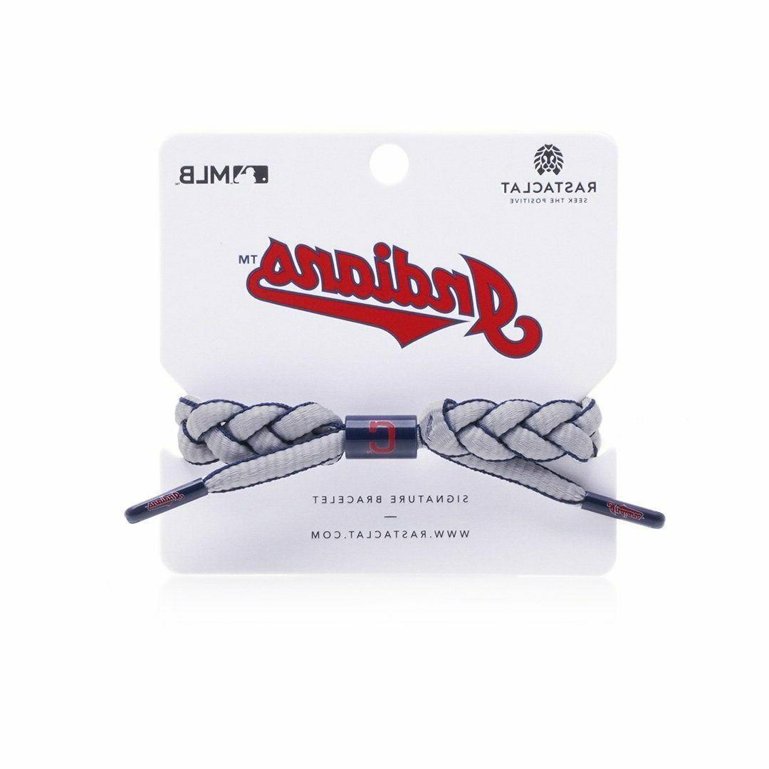 Rastaclat Indians Bracelet, Infield MLB