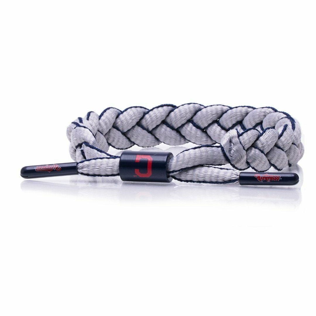 rastaclat cleveland indians braided bracelet infield mlb