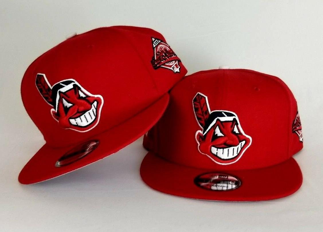 red cleveland indians 1995 world series side