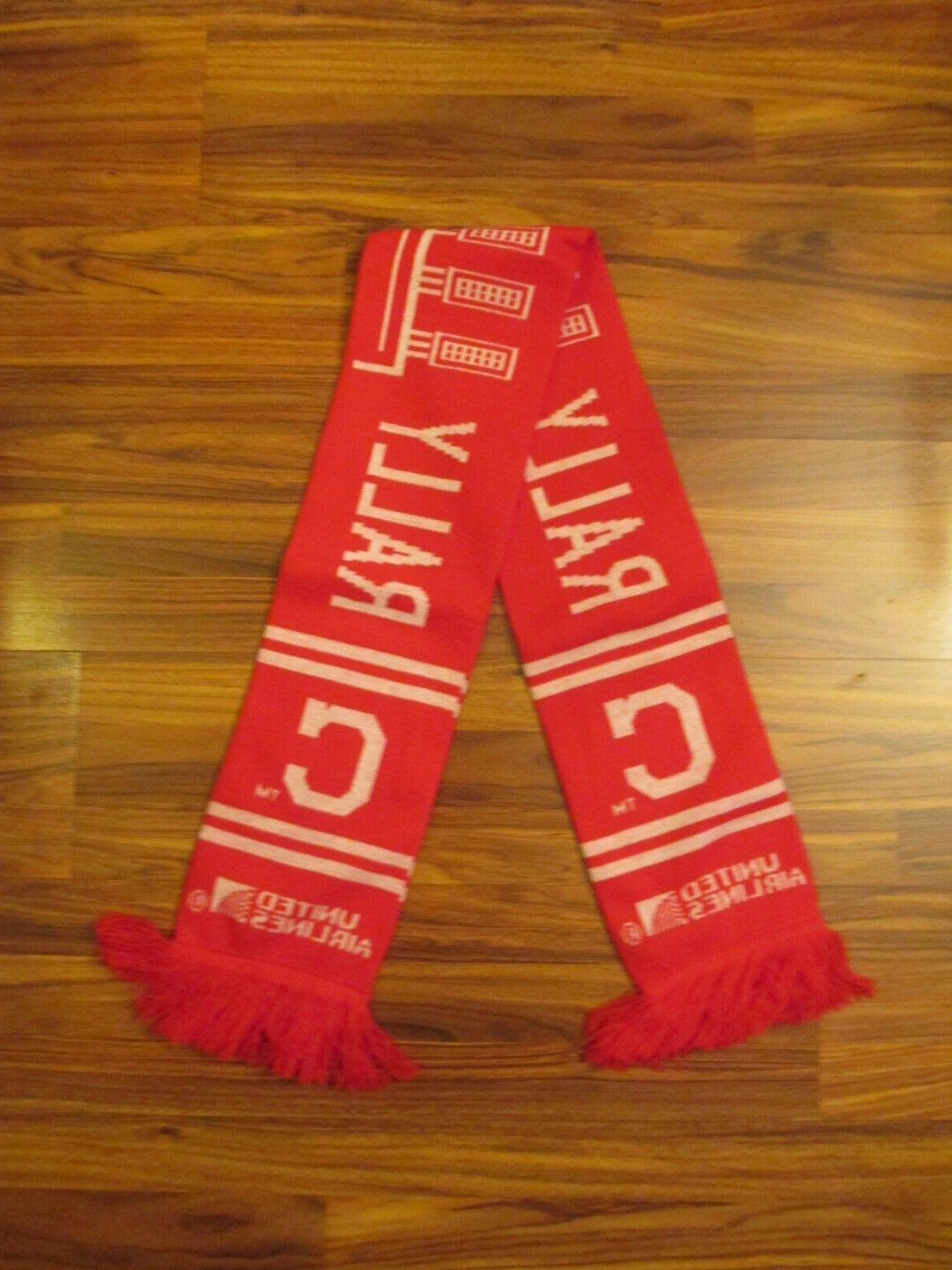 Red Cleveland Indians Rally Together Winter Scarf - SGA