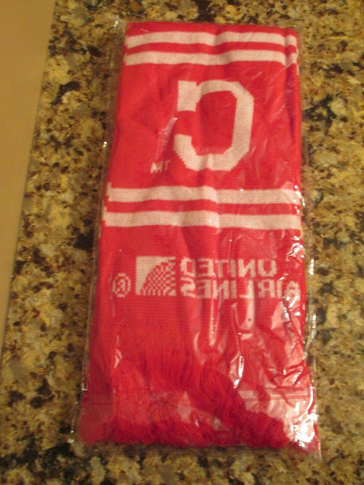 red cleveland indians rally together winter scarf