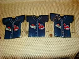 Lot of  CLEVELAND INDIANS JERSEY LABATT BLUE Bottle Coozies