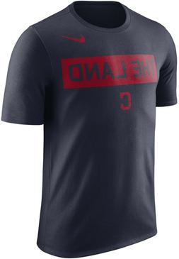 Nike Men's Dri Fit Cleveland Indians The Land T Shirt   Medi