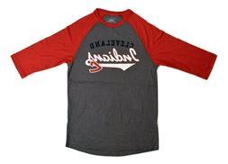 Majestic Mens Cleveland Indians Baseball Shirt New S, L, XL,