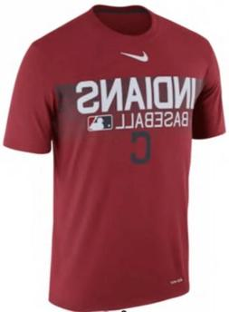 Nike Men's Cleveland Indians Dri Fit AC Team Issue Jersey