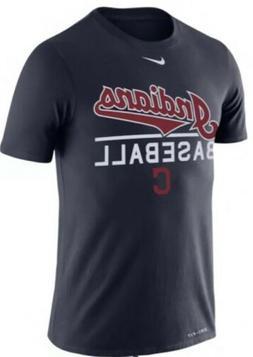 Nike Men's Cleveland Indians Dri Fit Practice Jersey Shirt