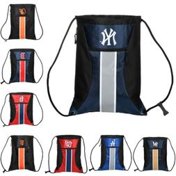 MLB Baseball Team Logo Zipper Drawstring Backpack - Pick Tea