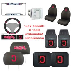 MLB Cleveland Indians Choose Your Gear Auto Accessories Offi
