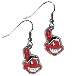 mlb cleveland indians dangle earrings