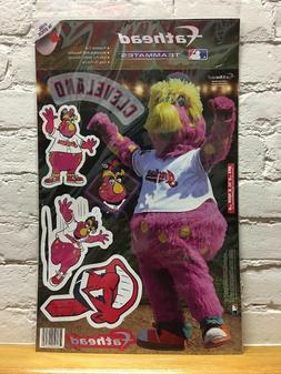 CHIEF MLB Cleveland Indians Mascot Fathead Teammate Peel & S