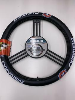Montreal Canadiens NHL Leather Steering Wheel Cover