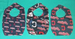 New BABY CHILD BIB CLEVELAND INDIANS  MLB BASEBALL TEAM / SH