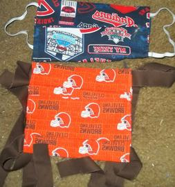 New Cleveland Indians & Browns Custom Made Cloth Face Masks