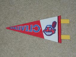 NEW) Cleveland Indians - Vintage Trench 1970's Baseball Mini