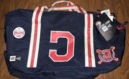 NWT Cleveland Indians New Era Heritage Patch Small Duffel Ba