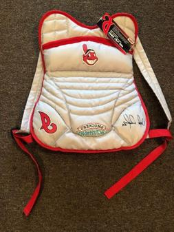 NWT Cleveland Indians Victor Martinez Smuckers Gray Backpack