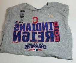 RARE! Cleveland Indians 2016 World Series Champions T-Shirt
