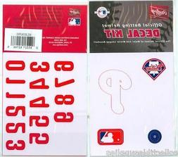 Rawlings MLB Baseball Batting Helmet Decal Kit - All 30 MLB