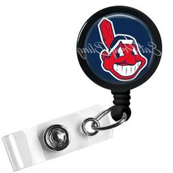 Retractable Badge Reel Name ID Pull Clip Holder Lanyard Clev