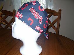 surgical scrub hat, cap, men, women, baseball, MLB, clevelan