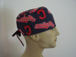 Surgical Scrub Hat/Cap - MLB - CLEVELAND INDIANS - One Size