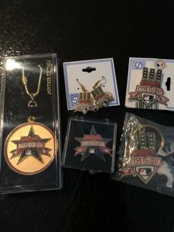 Vintage 1997 Cleveland Indians MLB All Star Game Pins, Keych