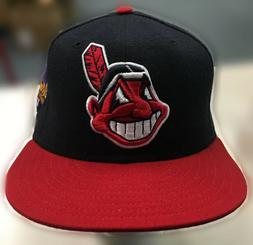 Vintage Cleveland Indians 1997 World Series Chief Wahoo Hats