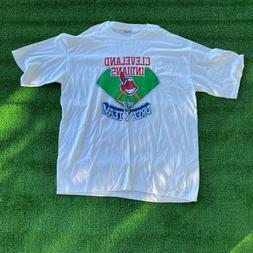 Vintage Deadstock Cleveland Indians Marathon Apparel T-Shirt