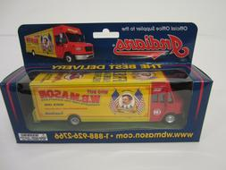 W.B. Mason Office Products Supplier Truck Cleveland Indians